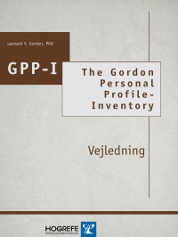 The Gordon Personal Profile-Inventory